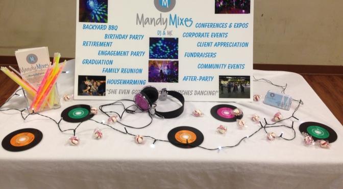 BOOM! Mandy Mixes – DJ & MC sponsors the Good Ol Gals Business EXPLOSION! – January 30, 2014
