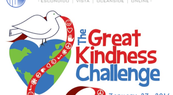The Great Kindness Challenge! – January 27, 2014