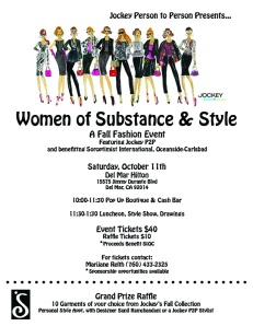 Women of Substance and Style Invitation