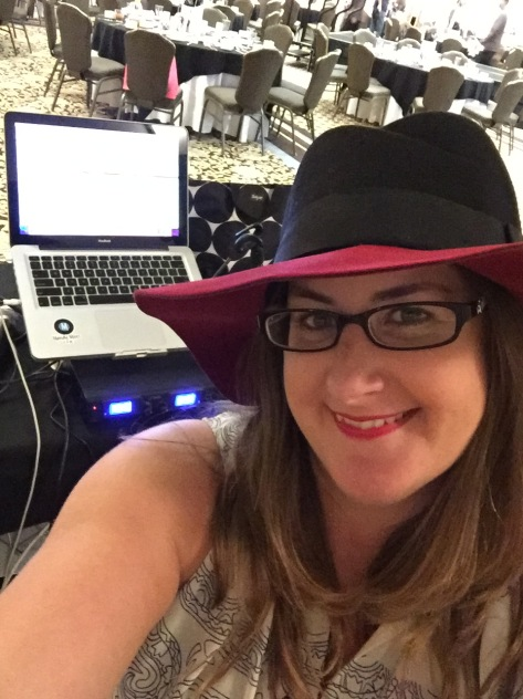 DJ MandyMixes in the DJ Booth at the 2015 show!