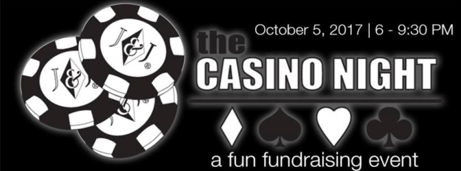 The Casino Night – a fun fundraising event (October 5, 2017)