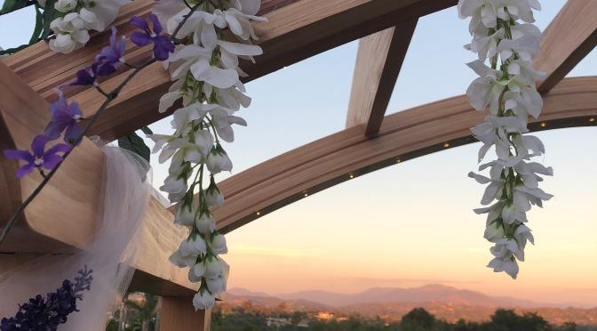 Backyard Wedding in Valley Center, CA