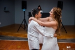 The bride's son requested a special song to dance with his Mom. So sweet!